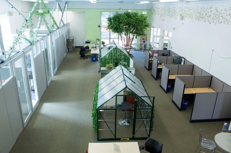 Gilroy Virtual Office Space - Comfortable Commons Area