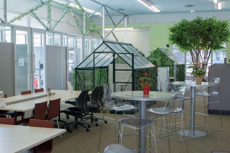 Gilroy Virtual Office Address - Lounge Commons Area
