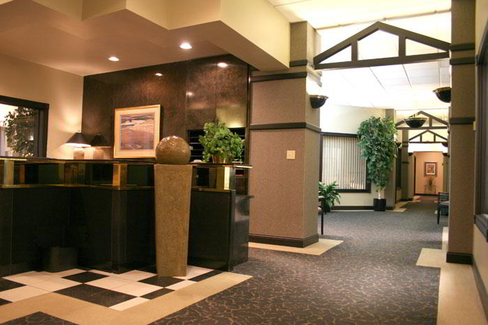 Receptionist Lobby - Virtual Offices in Green Bay