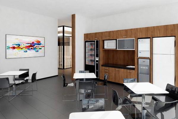Break Area in Guadalajara Virtual Office