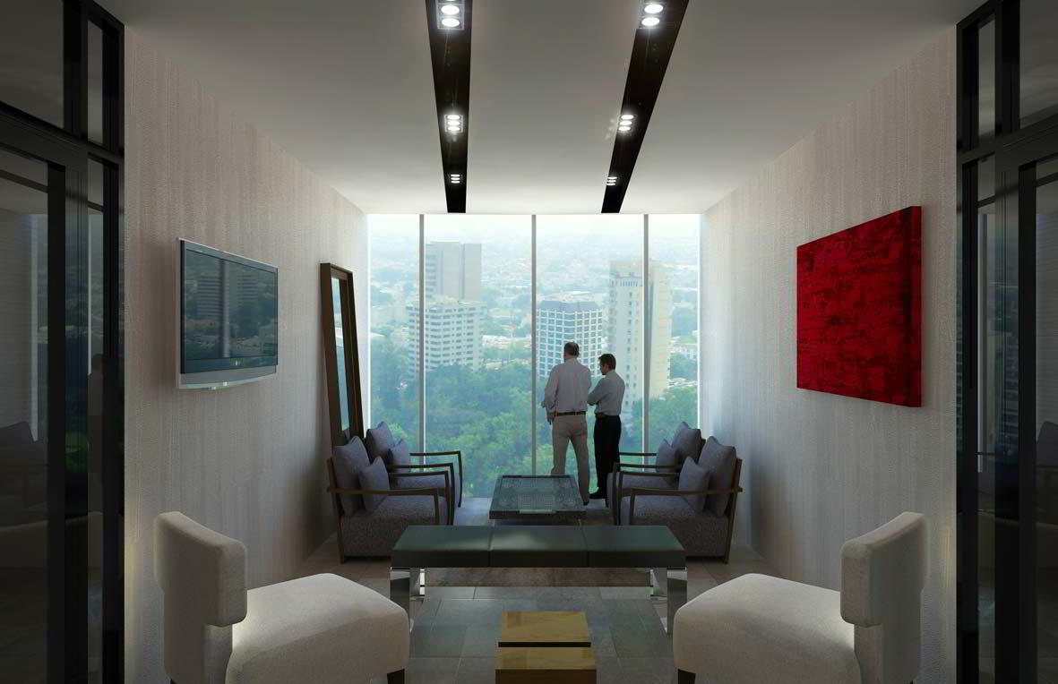 Guadalajara Virtual Office Address - Lounge Commons Area