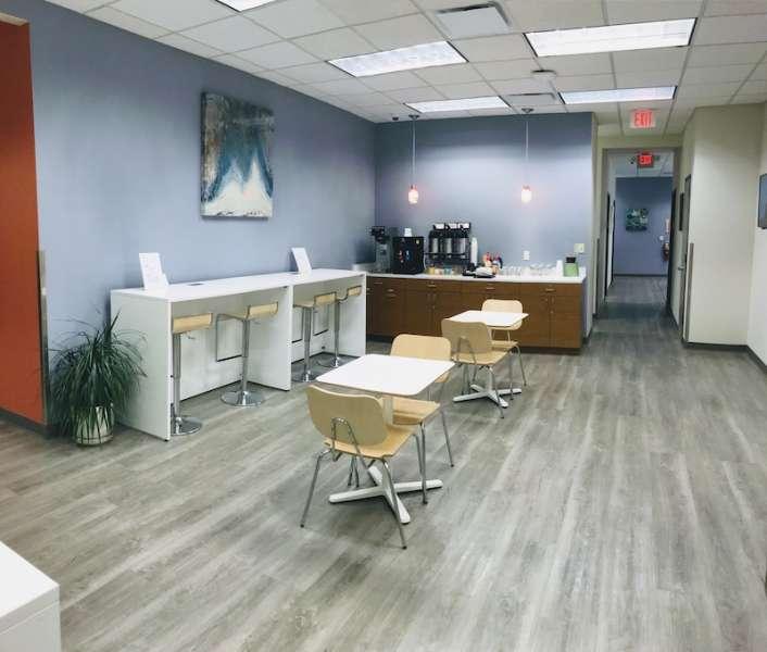 Break Area in Hackensack Virtual Office Space