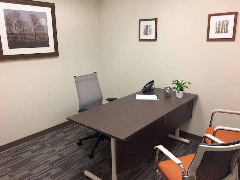 Temporary Hackensack Office - Meeting Room