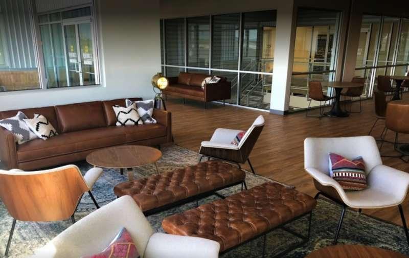 Harlingen Busines Address - Lounge Area