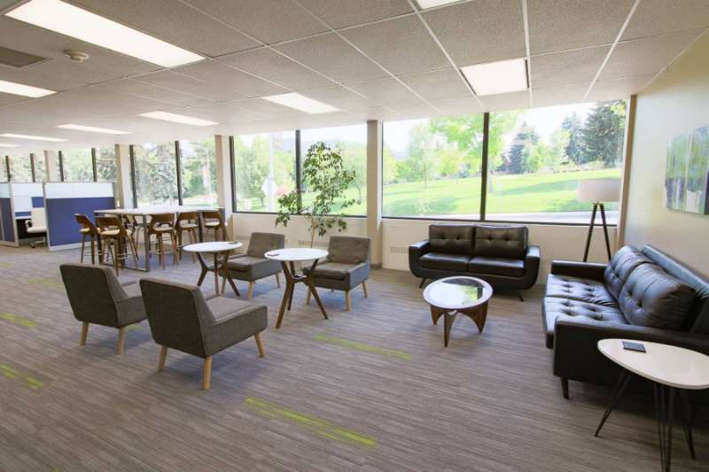 Helena Virtual Office Space - Comfortable Commons Area