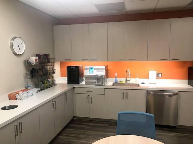 Break Room - Kitchen Area - Herndon Virtual Office