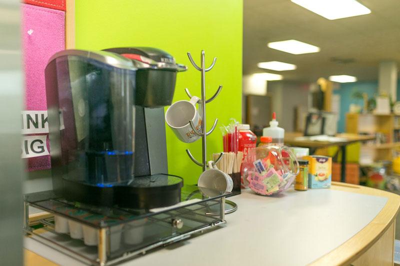 Break Room - Kitchen Area - Highland Heights Virtual Office