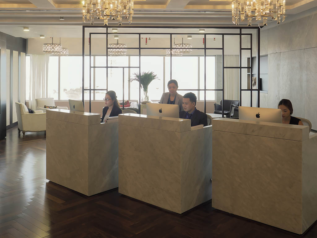 Receptionist Lobby - Virtual Offices in Ho Chi Minh City