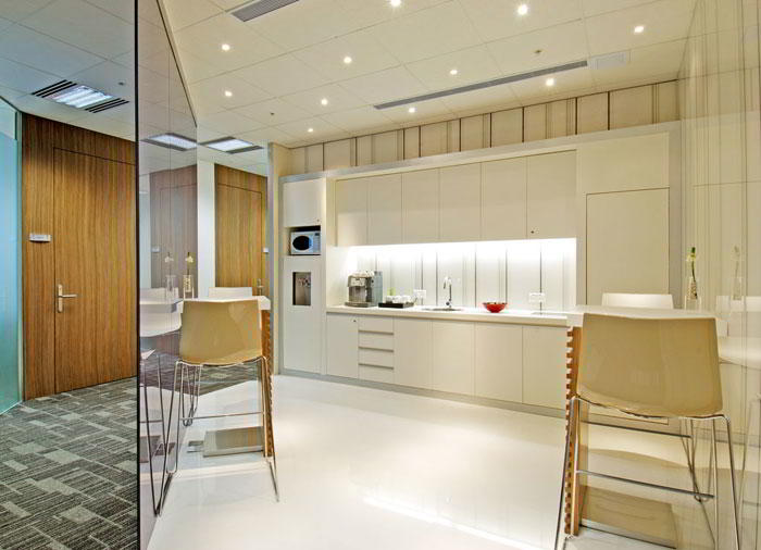 Break Area in Hong Kong Virtual Office Space