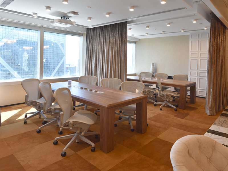 Hong Kong Busines Address - Lounge Area