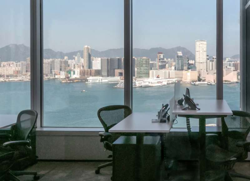 Hong Kong Virtual Office Space - Comfortable Commons Area