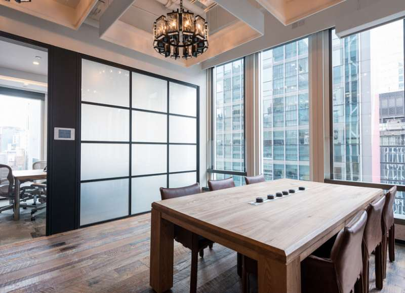 Stylish Hong Kong Meeting Room