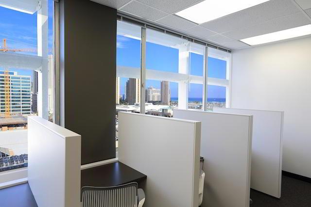 Honolulu Virtual Office Space - Comfortable Commons Area