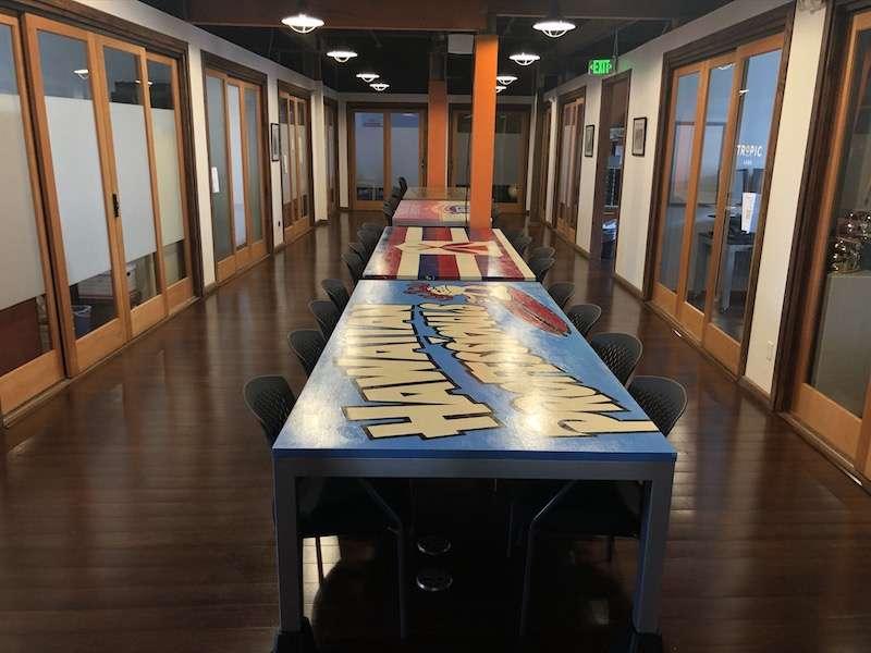 Honolulu Virtual Office Address - Lounge Commons Area