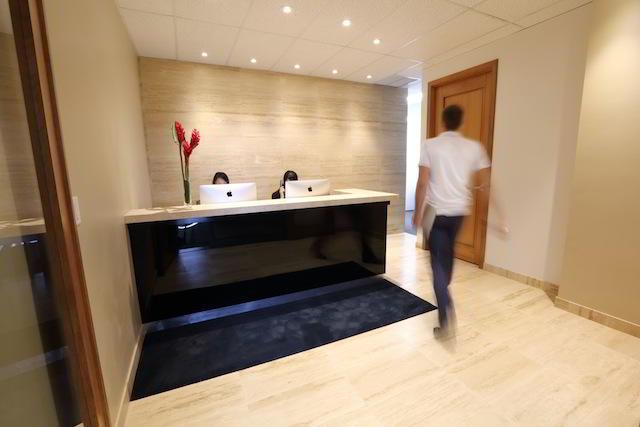 Stylish Entrance Lobby - Virtual Office in Honolulu