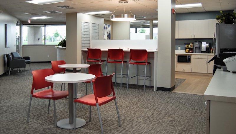 Break Area in Horsham Virtual Office