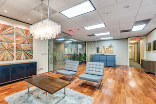 Receptionist Lobby - Virtual Offices in Houston