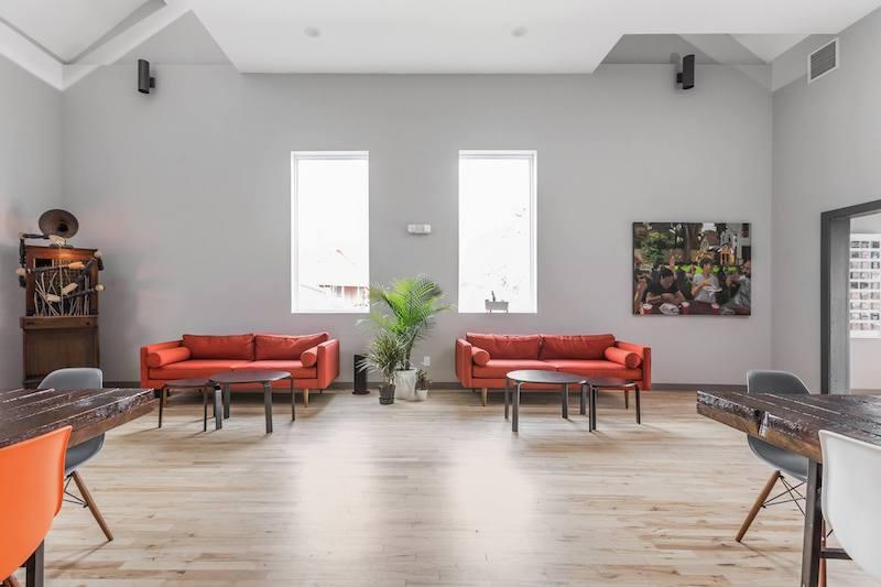 Indianapolis Busines Address - Lounge Area