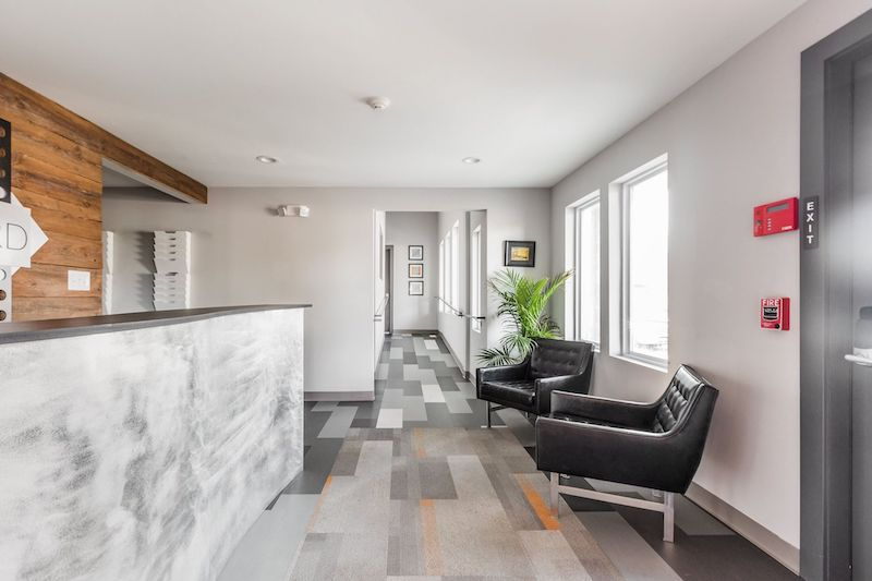 Receptionist Lobby - Virtual Offices in Indianapolis