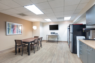 Break Area in Irvine Virtual Office Space