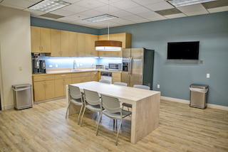 Break Room - Kitchen Area - Irvine Virtual Office
