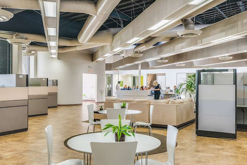 Irvine Virtual Office Address - Lounge Commons Area