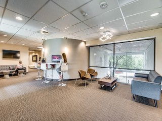 Irving Virtual Office Address - Lounge Commons Area