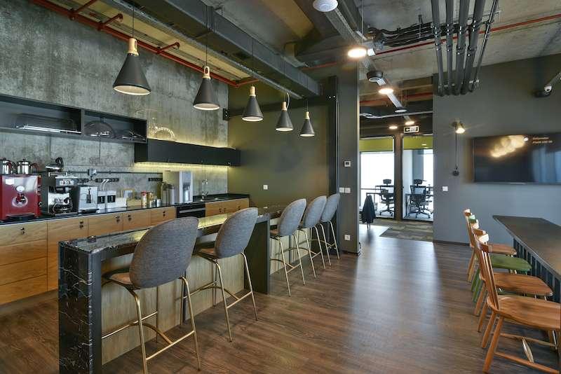 Break Room - Kitchen Area - Istanbul Virtual Office