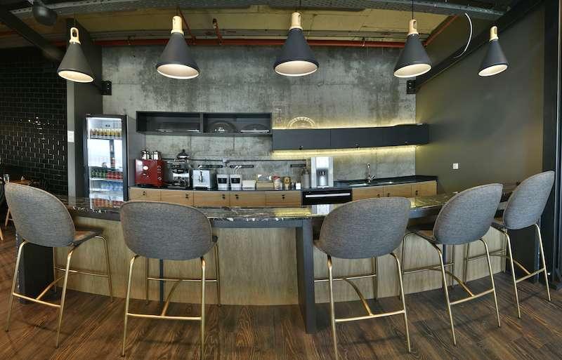 Break Area in Istanbul Virtual Office Space