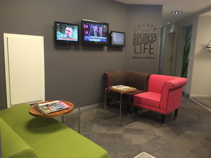 Istanbul Virtual Office Address - Lounge Commons Area