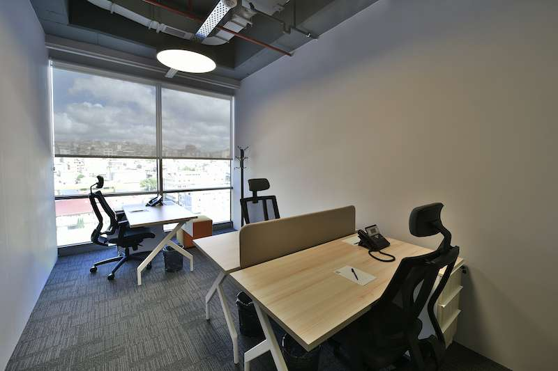 Istanbul Virtual Office Space - Comfortable Commons Area