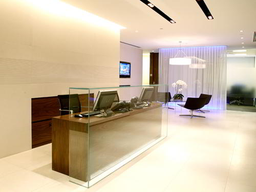 Stylish Entrance Lobby - Virtual Office in Istanbul