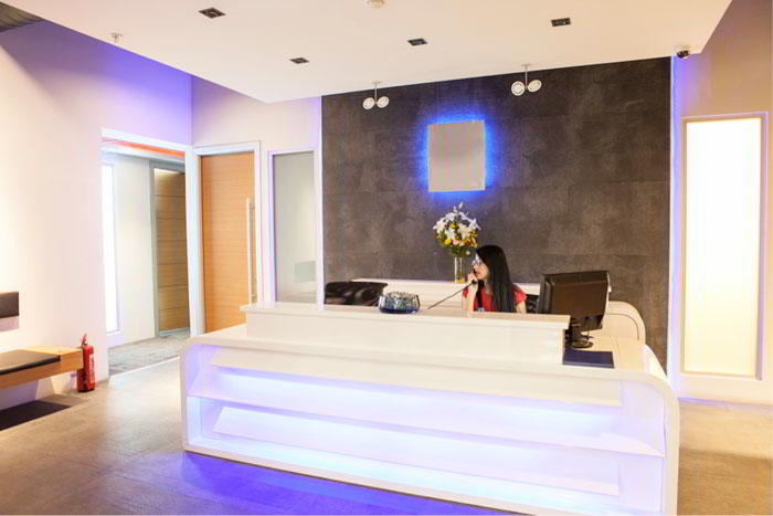 Ãœmraniye Istanbul Live Receptionist and Business Address Lobby