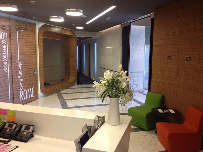 Istanbul Live Receptionist and Business Address Lobby