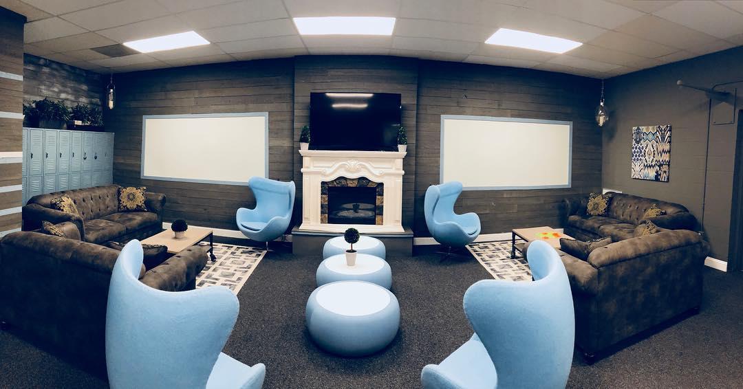 Jacksonville Busines Address - Lounge Area