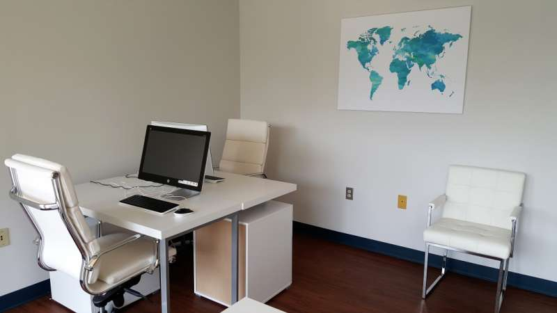 Temporary Lanham Office - Meeting Room