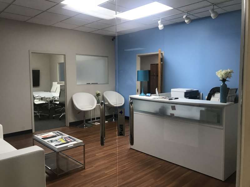 Receptionist and Mail Area - Laurel Virtual Office