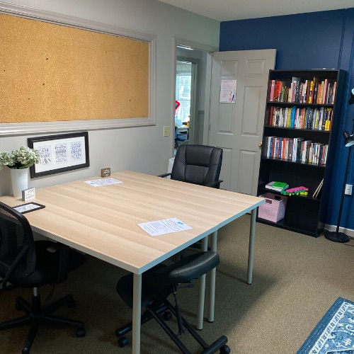 Temporary Lexington Office - Meeting Room