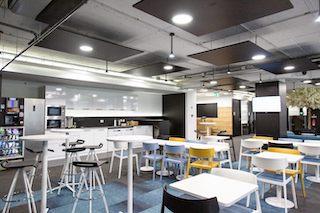 Break Area in Lisbon Virtual Office