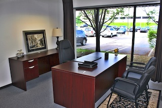 Temporary Livonia Office - Meeting Room