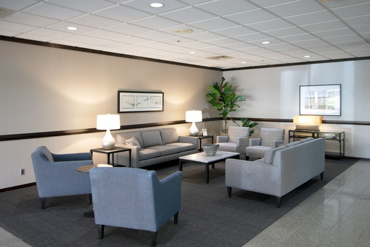 Receptionist and Mail Area - Livonia Virtual Office
