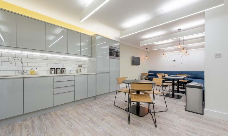 Break Area in London Virtual Office