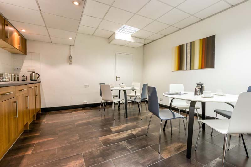 Break Area in London Virtual Office