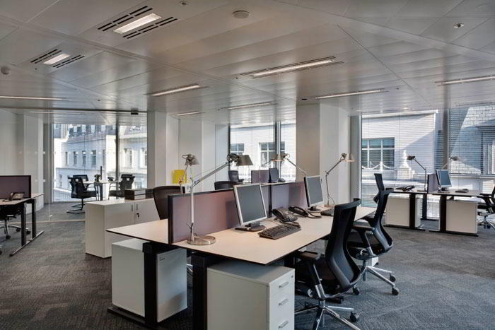 London City Virtual Office Space - Comfortable Commons Area