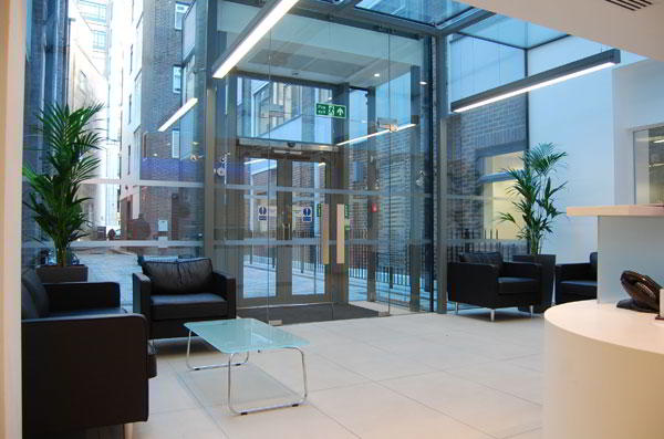 London City Live Receptionist and Business Address Lobby