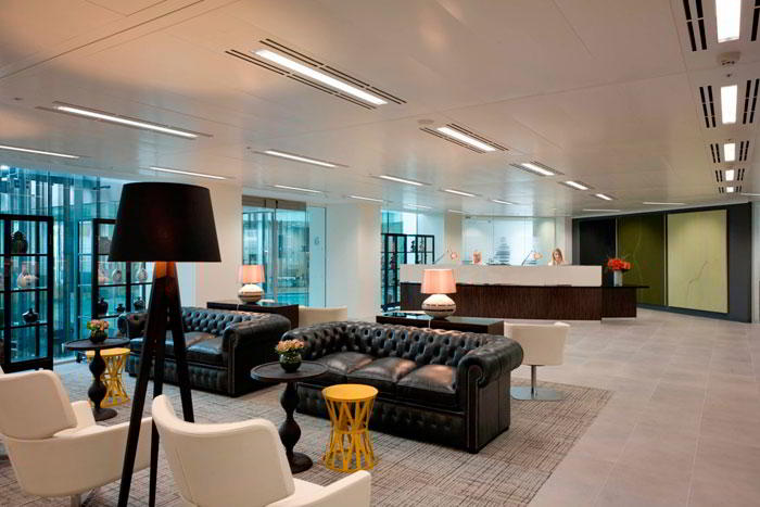 Receptionist Lobby - Virtual Offices in London City