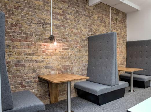 London Virtual Office Address - Lounge Commons Area