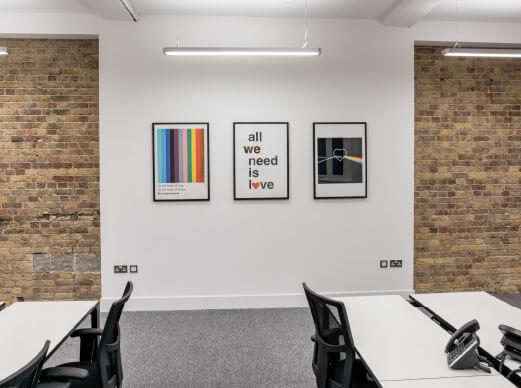London Busines Address - Lounge Area