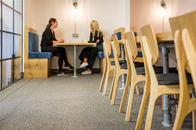 London Virtual Office Space - Comfortable Commons Area