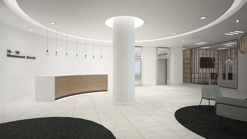 Receptionist and Mail Area - London Virtual Office
